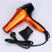 Blow Dryer Pro Far Infrared Heat DC Motor Hair Dryer Salon Powerful Ceramic with Concentrator Nozzle Cola GW695