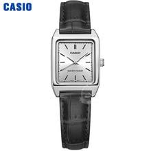 Casio Watch women Luxury Brand Analog Leather Square dial  Women's Wrist Watch Female Quartz Clock Relogio Mulher LTP-V007 все цены