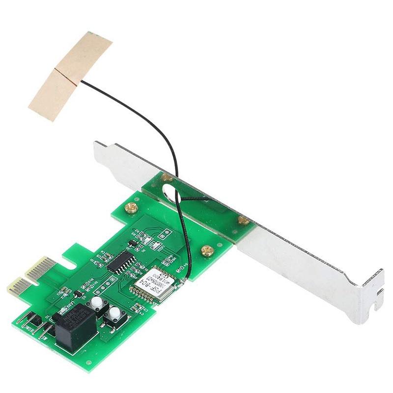 HOT-For EWeLink Mini PCI-E Desktop PC Remote Control Switch Card WiFi Wireless Smart Switch Relay Module Wireless For Smart Home