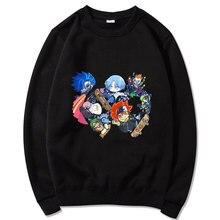 Skateboard Boys SK8 The Infinity Sportswear Oversized Streetwear Hip Hop Mens Tops Long Sleeve Print Sweatshirts Kawaii Clothes