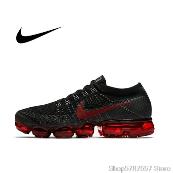 Original Official Nike Air VaporMax Be True Flyknit Breathable Mens Running Shoes Outdoor Sports Sneakers Low Top Athletic