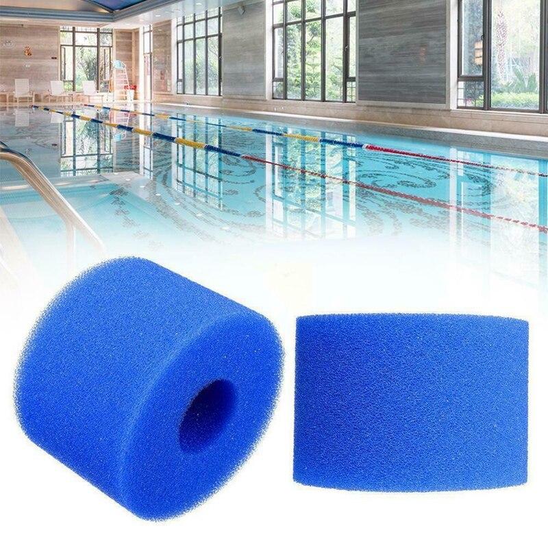6шт для Intex Pure Spa многоразовые моющиеся пена горячая ванна фильтр картридж S1 тип