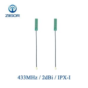 Image 1 - 433 mhz 内蔵オムニ 433 メートルアンテナ ipx ipex lora 内部アンテナとの通信のため RF1.13 フィーダー TX433 PCB 3207