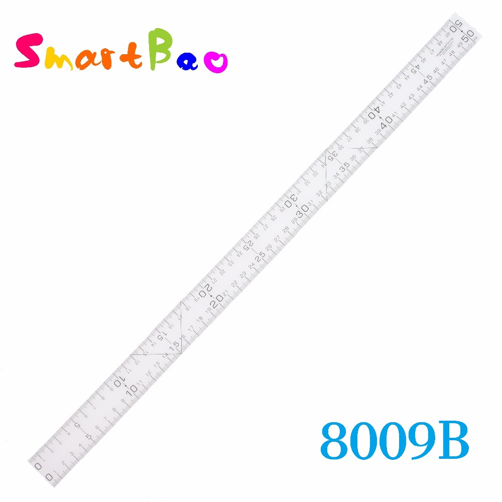50cm Soft Plastic Ruler Extra Thin Measure Ruler Grading Ruler,Essential Tool For Fashion Designers&Pattern Makers; 50*3*0.05cm