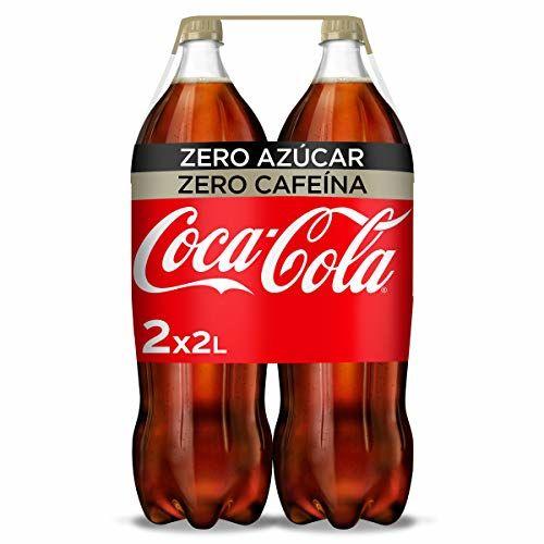 Coca-Cola Zero Azúcar Zero Cafeína Botella - 2 L (Pack De 2)