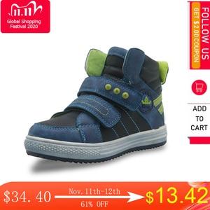 Image 1 - Apakowaเด็กวัยหัดเดินเด็กกลางแฟชั่นรองเท้าข้อเท้ากีฬากลางแจ้งกีฬารองเท้าวิ่งHook and LOOPรองเท้าผ้าใบสำหรับLittle Boys