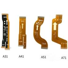 20 Chiếc Dành Cho Samsung Galaxy Samsung Galaxy A21 A21S A31 A41 A51 A71 A52 A42 A32 A325 Chính Bo Mạch Chủ Flex Cáp Kết Nối USB Ban Ruy Băng