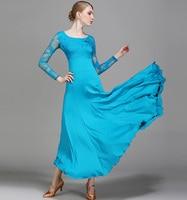 Flamenco Skirts Ballroom Dance Big Swing Skirts Women's Latin Dress Tango Dancing Dress For Ladies Lace Party Costumes Dancewear