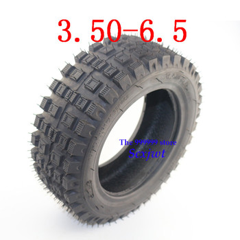2019 New Hot Sale 3.50-6.5 Tubeless Tire Thickening Vacuum Tyre for Rotary Cultivator ATV Quad Lawn Mower Garden Tractor