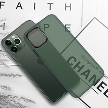 Ultra Thin Phone Case For iPhone 11 Pro X XR Xs Max Matte Soft Silicone Case For iPhone SE2 2020 6 6S 7 8 Plus Back Cover Fundas oppselve breath case for iphone x 7 6 6 s plus luxury ultra thin slim hard pc cover case for iphone x ix coque fundas capinhas