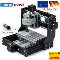EU Ship! GRBL control DIY mini CNC machine 1610 Pro working area 180x100x45mm 3 Axis Pcb Milling machine,Wood Router