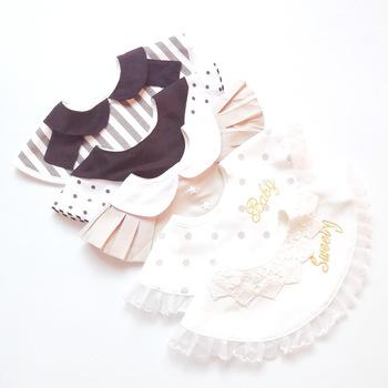 Japanese Baby Cotton Bibs Baby Cotton Princess Lace Bib Fake Collar 0-1-2 Years Old Baby Burp Cloths Baby Stuff for Newborns tanie i dobre opinie Moda Dziecko dziewczyny 0-3 M 10-12 M 2-3Y