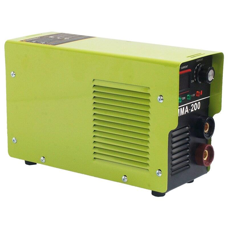 Máquina de Solda Machinehousehold Pequena Inversor Mma-200 110v Mod. 330466