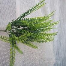 Planta Artificial Bracken pared decorativa hojas artificiales plantas acuáticas planta