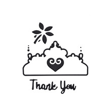 Naifumodo Flower Dies Thank You Words Metal Cutting New 2019 for Card Making Scrapbooking Embossing Cuts Stencil Craft