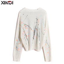 Женские свитера xikoi Осень зима 2021 топы корейский женский