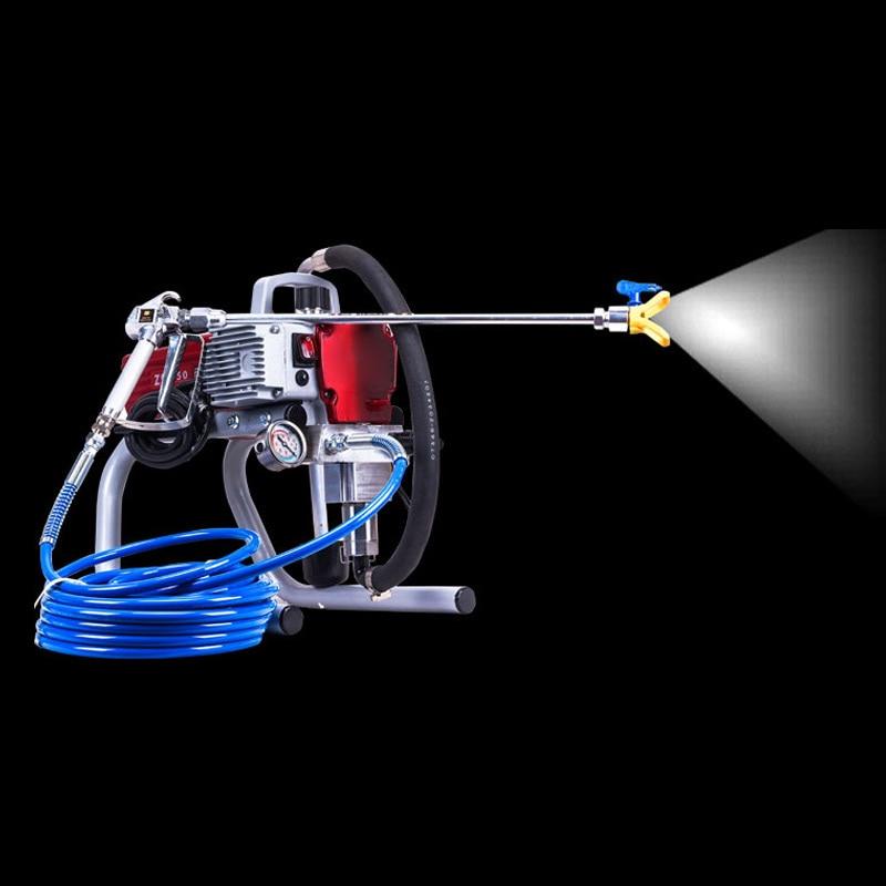 Spraying Machine High Pressure Airless Spray Gun Latex Painting Latex Paint Machine Household Wall Paint Sprayer Tool