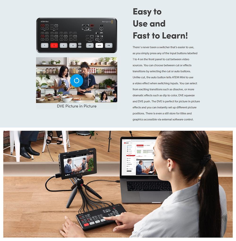 Blackmagic Design ATEM Mini Pro 5