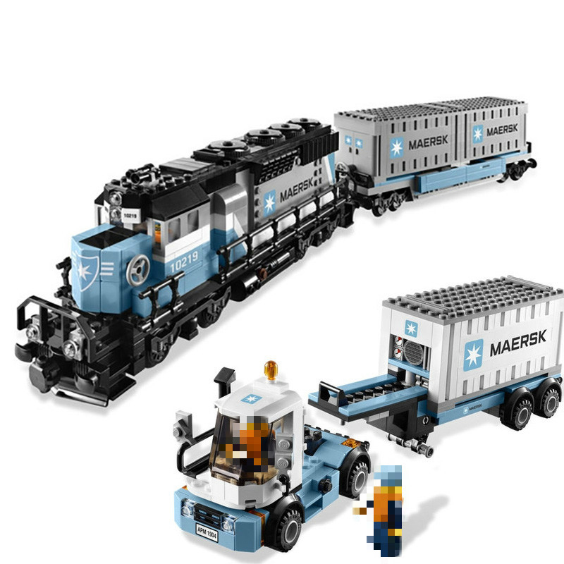 21006-1234Pcs-Expert-Technic-Ultimate-Series-Maersk-Train-Building-Blocks-Toys-Gift-Compatible-with-