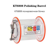 Tumbler Polishing-Barrel Jewelry Rotary-Drum/bucket for KT-6808 3-Kg Capacity