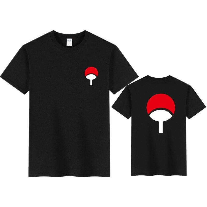 2020 Summer Naruto T-Shirt Men T Shirt Akatsuki Kakashi Gaara Hokage Uchiha Itachi Sasuke Sharingan Men Child Gift Tshirt Tops