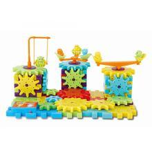 82 шт. пластиковые детские электрические шестерни строительные блоки кирпичи 3D Модели Строительные наборы Детская образовательная игрушка-игра в подарок