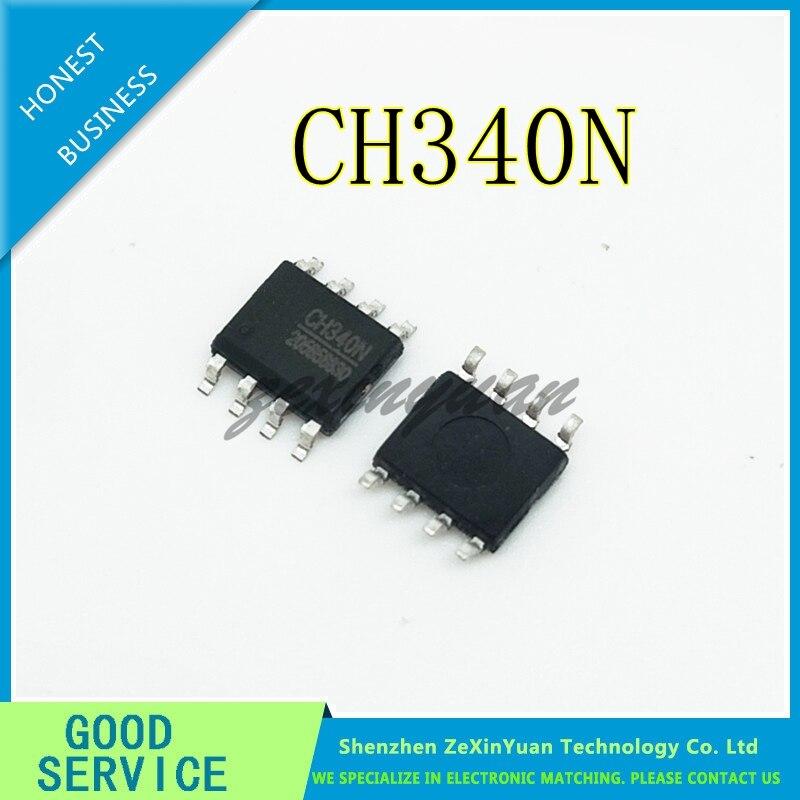 5PCS 10PCS CH340N SOP-8 USB Serial Port Chip Compatible With CH330N