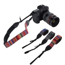 New Universal Adjustable Cotton Leather Camera Shoulder Neck Strap Belt For Sony/ Nikon SLR Cameras Accessories Part