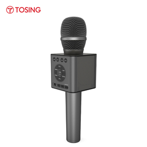 Image 3 - TOSING Q12 2020 חדש נייד קריוקי מיקרופון אלחוטי Bluetooth רמקול כף יד מוסיקה נגן KTV נסיעות SupportUSB כרטיס לשחק