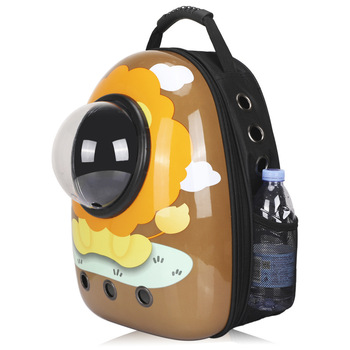 цена на Factory Sell Capsule Pet Bag Backpack Breathable Space Pet Backpack Sac De Transport Pour Chat Waterproof Traveler Knapsack