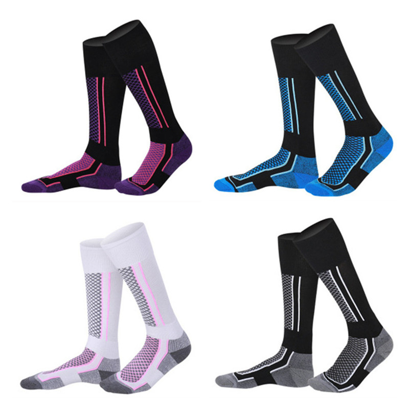 High Quality Warmkeeping Women/Men Winter Ski Snow Sports Socks Thermal Long Ski Snow Walking Hiking Sports Towel Socks