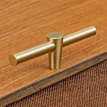 Кухонная фурнитура, ручка для шкафа из чистой меди, дверная ручка для спальни, ручка для шкафа, шкаф, антикоррозийный ящик, барный комод