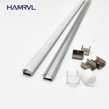 10 100m dużo, 1m na szt., profil aluminiowy led na 5050/5630 pasków HR AP1509, płaska obudowa darmowa wysyłka mleczny przezroczysty pokrowiec