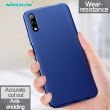 Huawei Honor 9X Case Honor9X Cover NILLKIN Super Frosted Shield Plastic Hard Phone Cases For Huawei Honor 9X Fundas Back Covers цена и фото