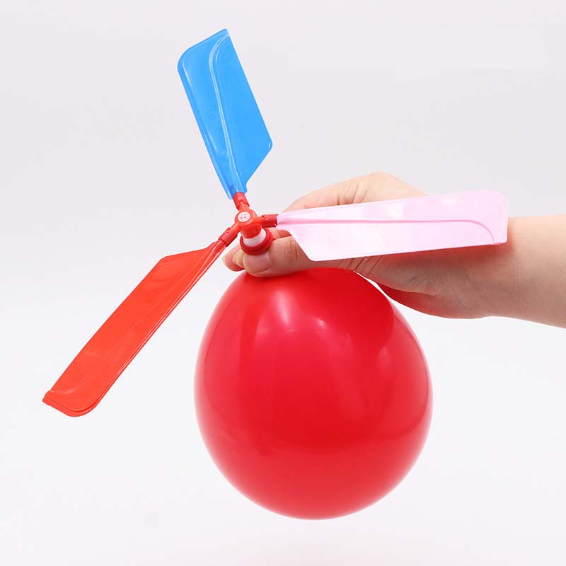 Funny Toys For Kids Adults Balloon Helicopter Flying Toy Flying Toys Ball Outdoor Fun Sports Aircraft Helicopter Party Filler