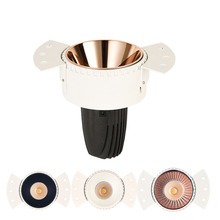 GD 4pcs 12W 15W COB Downlight Dimmable LED Recessed 220V Ebedded Ceiling Spot Lighting Anle Adjustable