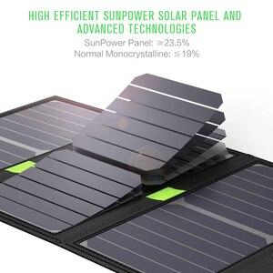 Image 4 - X DRAGON cargador de Panel Solar de 20W, cargador de batería Solar portátil, tecnología para iPhone, ipad, teléfonos Android, senderismo y aire libre