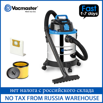 Vacmaster Wet Dry Vacuum Cleaner for Home Carpet 20L Stainless Steel Tank Vacuum Cleaner Dust Collector Home Cleaning Appliance handheld wireless vacuum cleaner home 120w usb cordless wet dry mini vacuum cleaner dust collector for home car cleaning