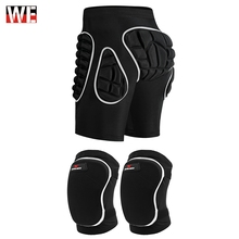 WOSAWE Motorcycles Knee Pads Protective Gear Thick Sponge Non-Slip Brace Guard Skiing Snowboarding Pad