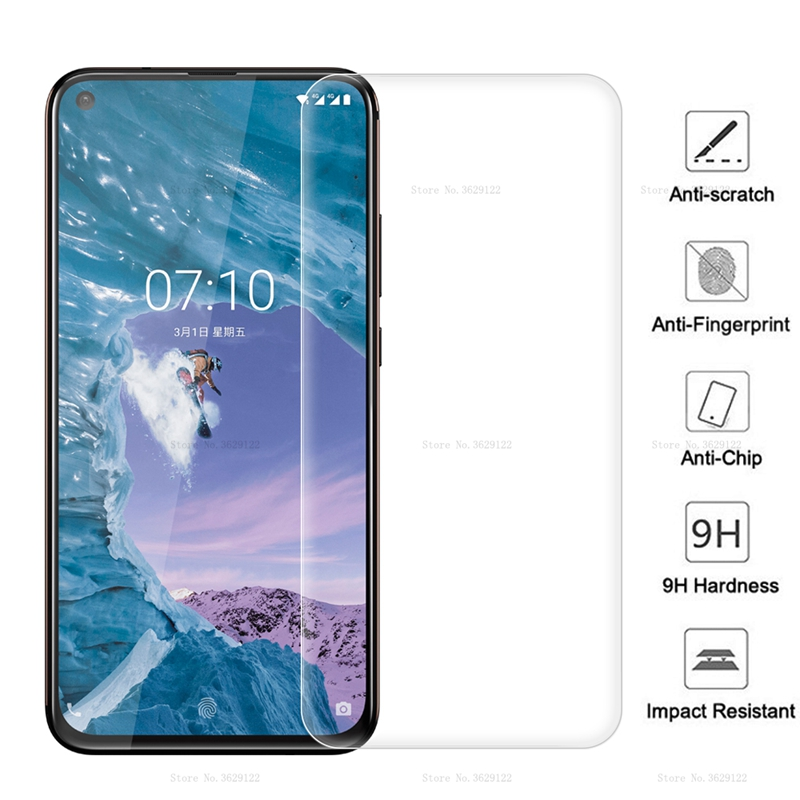 9H Premium Tempered Glass For <font><b>Nokia</b></font> 71 9 8.1 <font><b>7.1</b></font> 6.1 5.1 3.1 Plus <font><b>Screen</b></font> <font><b>Protector</b></font> For <font><b>Nokia</b></font> X8 X7 X6 X5 X3 Protective Glass image
