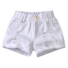 Denim Shorts Hot-Pants Girl White Summer Korean New Thin 3009 Foreign-Style