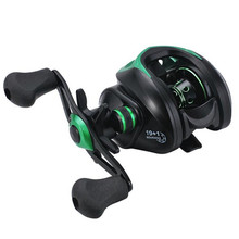 19+1BB High Speed 9.1:1 Gear Ratio Fishing Bait Casting Reel Braking Force 8KG/18LB with Right Left Hand Optional