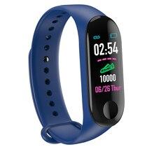 M3 Bluetooth Smart Band Call Reminder Message Reminder Smartwatch Heart Rate & Blood Pressure Monitor Fitness Tracker Smartband цена