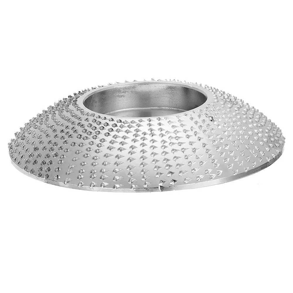 Disco de conformado extremo de 80mm 16mm diámetro de carburo de tungsteno disco de tallado de madera disco para molinillo de madera de 100 115 ángulo