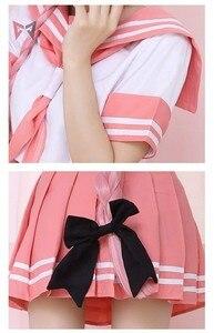 Image 4 - Costume de Cosplay danime Fate Astolfo, tenue de marin, uniforme décole JK, tenue de fantaisie pour femme, Costume dhalloween Anime