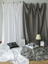 Christmas Backdrop ins Photography Backdrop Cloth Fotografia White Gray Black Shooting Background Curtain for Photo Studio