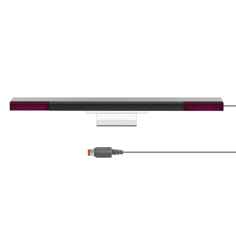 Game Accessories Wholesae Wired Infrared IR Signal Ray Sensor Bar/Receiver for Nintend for Wii PC Simulator Sensor Move Player