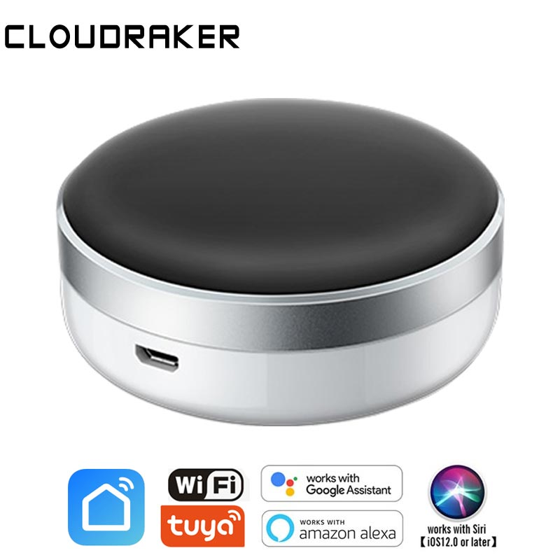 Universal Smart Remote Controller Voice Control WIFI+IR Switch Automation Air Condition TV Google Assistant Alexa Smart Life