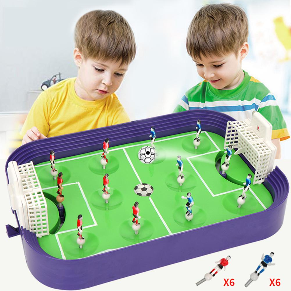Party Games Children's Educational Toys Finger Competitive Mini Soccer Field Parent-child Interactive Catapult Board Game Toys image