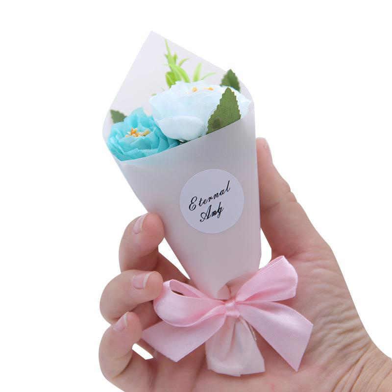 مصغرة رغوة الفاوانيا اليد جعل زهرة اصطناعية باقة الزفاف الديكور DIY اكليلا هدية مربع سكرابوكينغ الحرفية ورد صناعي